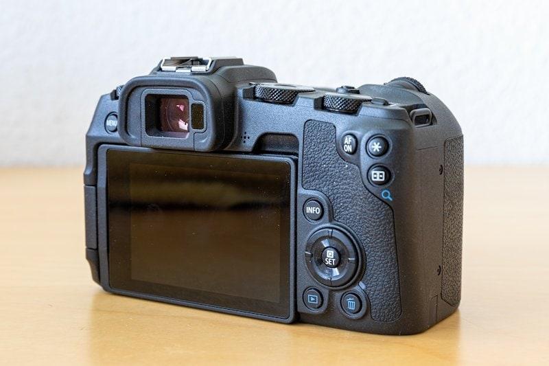 Canon EOS RP - Rückseite