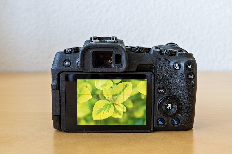 Canon EOS RP - Touchdisplay