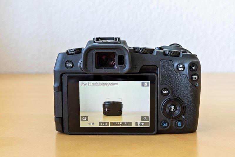 Canon EOS RP - Monitor