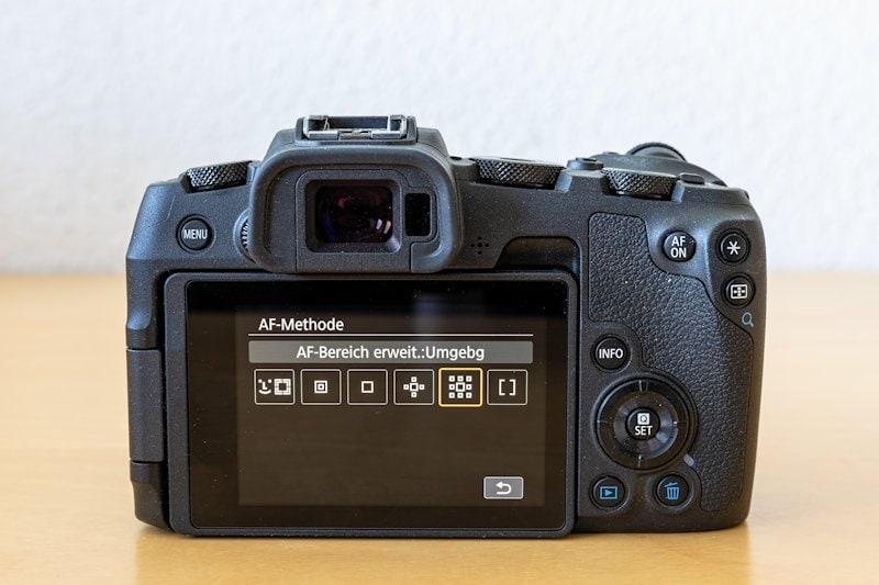 Canon EOS RP - Autofokus Programme