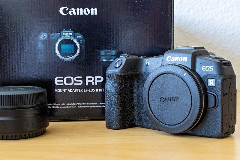 Canon EOS RP - Lieferumfang