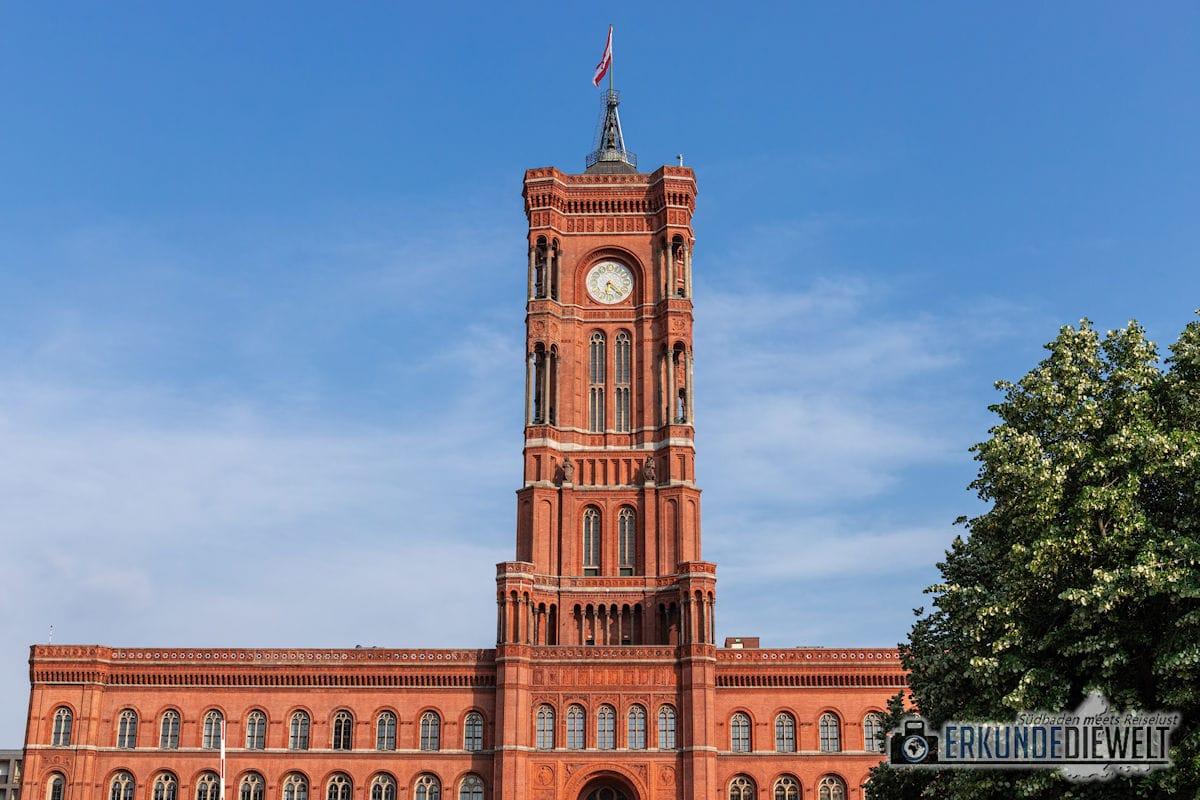 Rotes Rathaus, Berlin, Deutschland