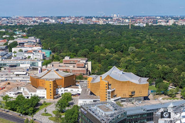 Ausblick vom Panoramapunkt am Potsdamer Platz