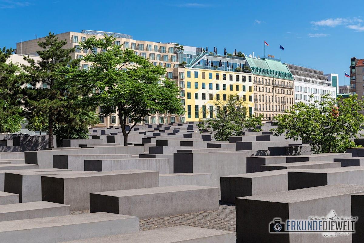 Holocaust Mahnmal, Berlin, Deutschland