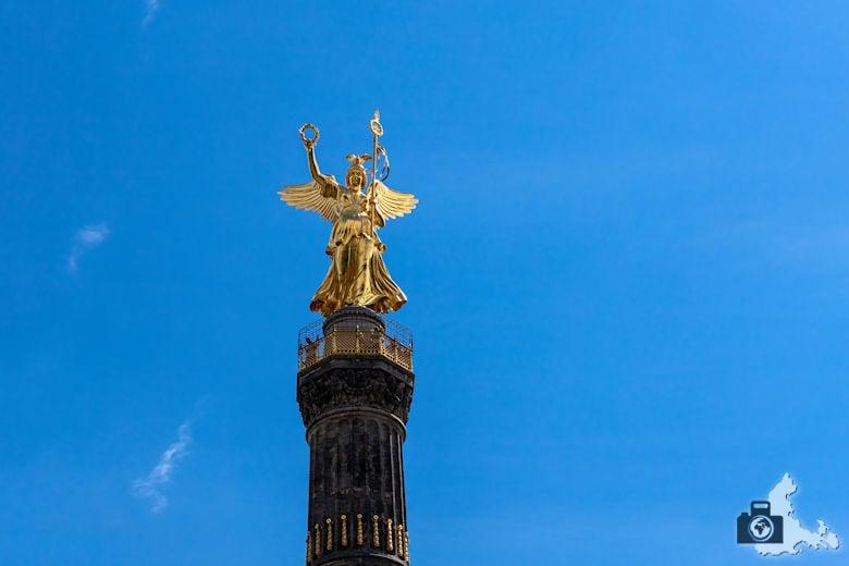 Berliner Siegessäule, Goldelse