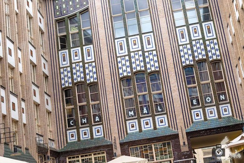 Jugenstilfassade, Hackesche Höfe, Berlin