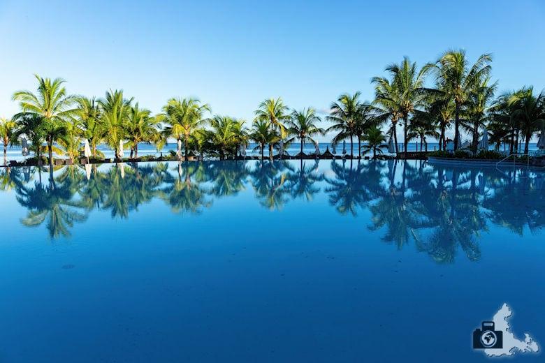 Fotowalk #9 - Am Strand von Mauritius - Hotelpool