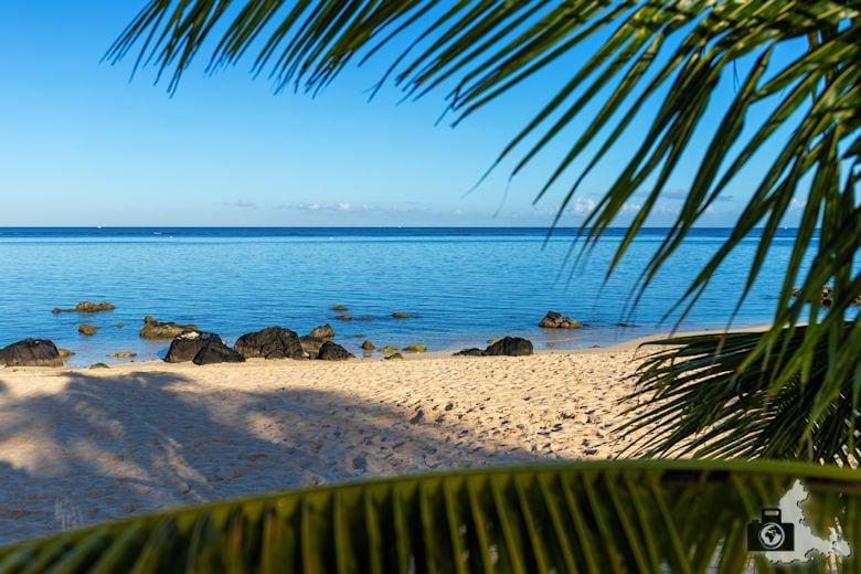 Fotowalk #9 - Am Strand von Mauritius - Blick aufs Meer