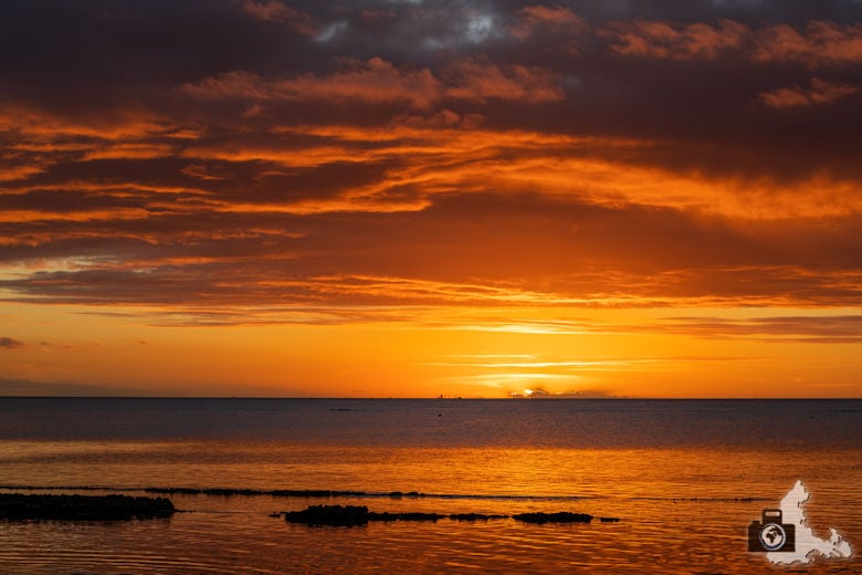 Fotowalk #9 - Am Strand von Mauritius - Sonnenuntergang