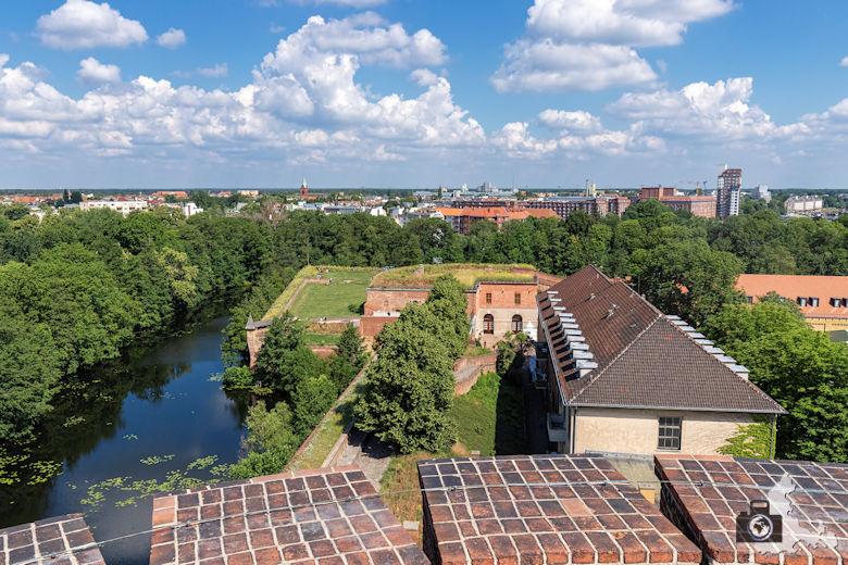 Aussicht, Zitadelle Spandau, Berlin