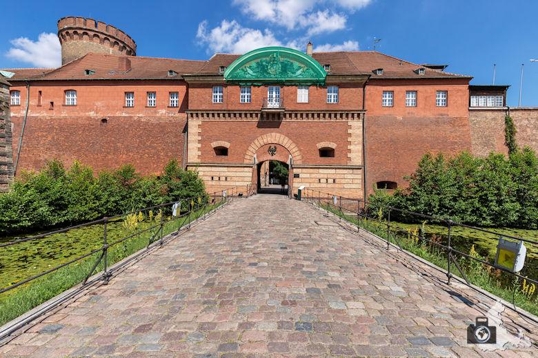 Eingang, Zitadelle Spandau, Berlin