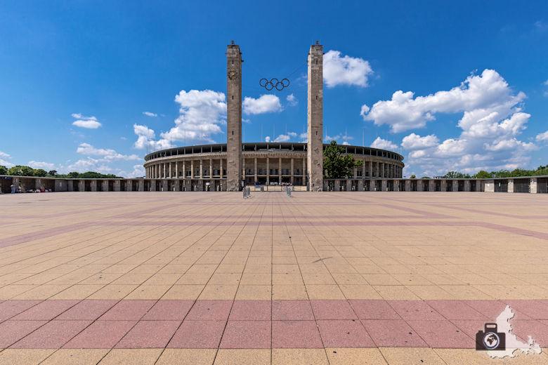 Außenansicht, Olympiastadion Berlin