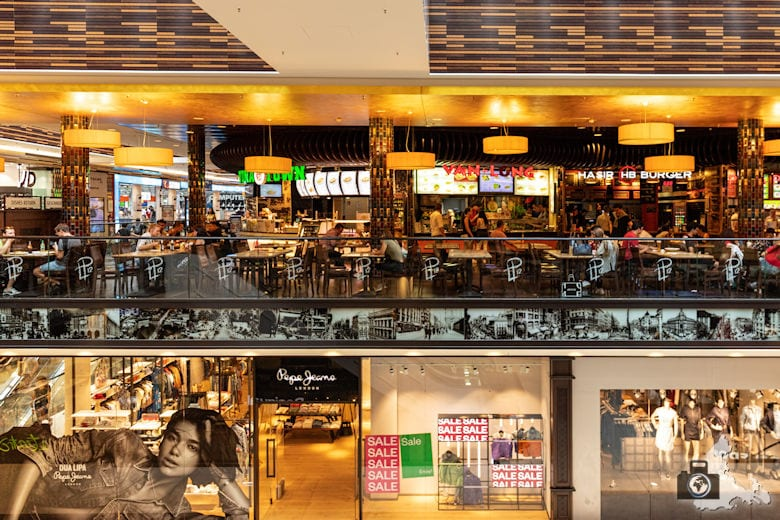Foodcourt, Mall of Berlin