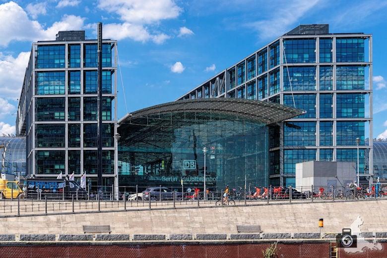Brückenfahrt Berlin - Hauptbahnhof