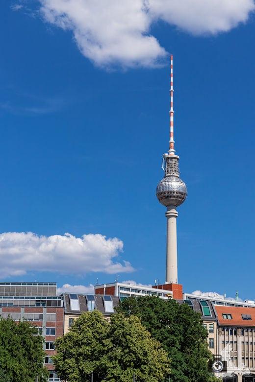 Brückenfahrt Berlin - Fernsehturm