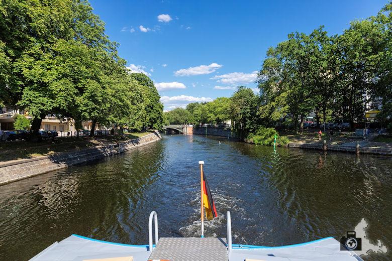Brückenfahrt Berlin - Landwehrkanal