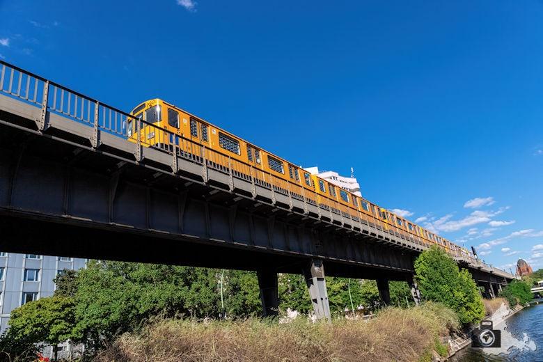 Brückenfahrt Berlin - U-Bahn