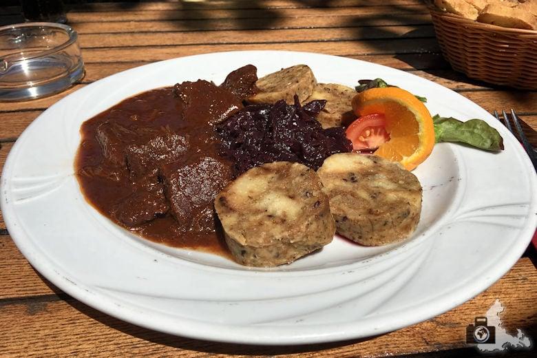 Restaurant Schlossgarten - Wildgulasch