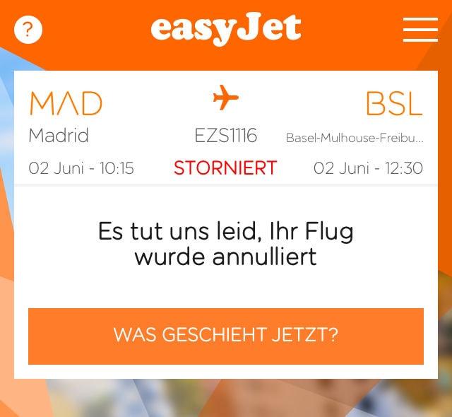 easyjet-app-flug-gestrichen