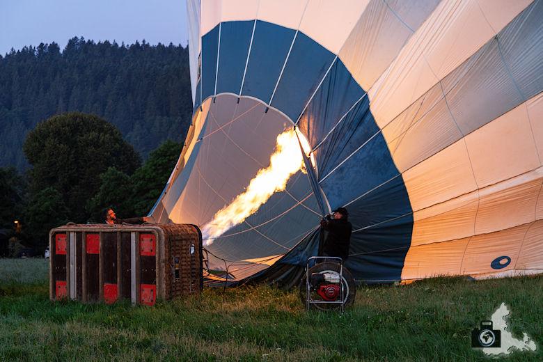 Heißluftballon, Hinterzarten, Schwarzwald