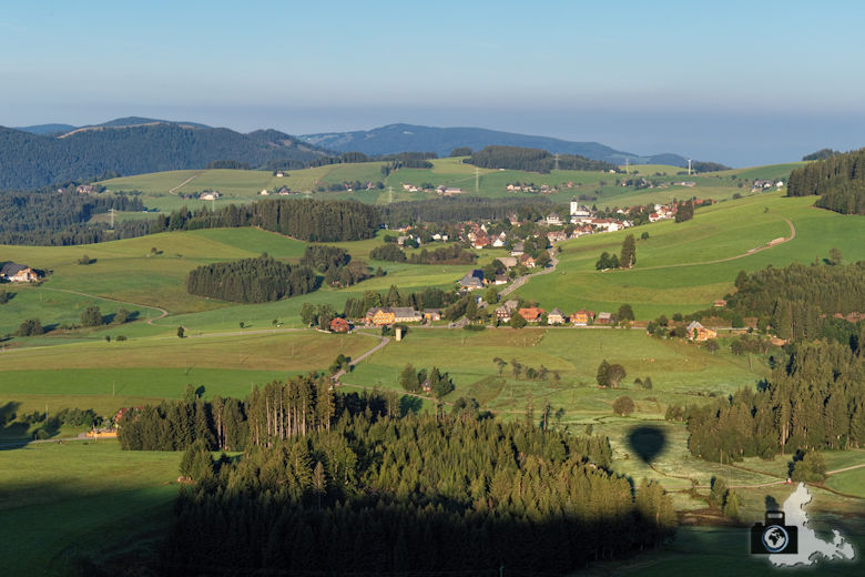 Ballonfahrt, Hinterzarten, Schwarzwald