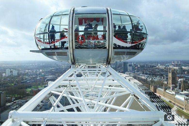 London Tipps zur Reisevorbereitung - Sehenswürdigkeit London Eye