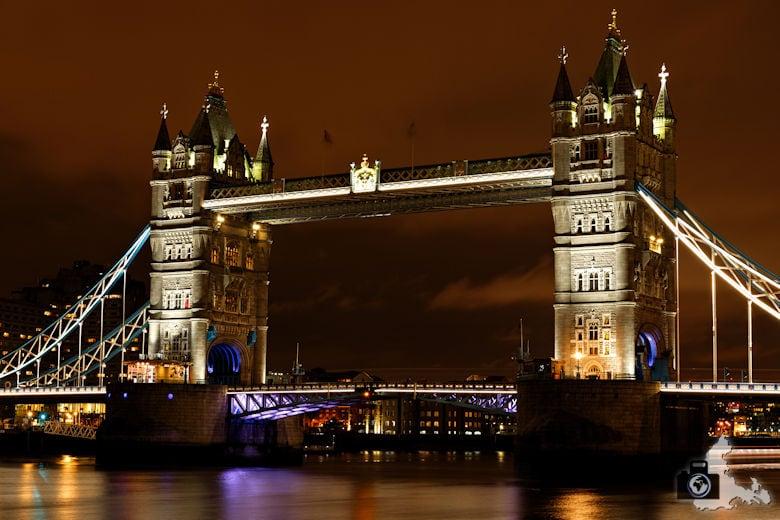 London Tipps zur Reisevorbereitung - Sehenswürdigkeit Tower Bridge