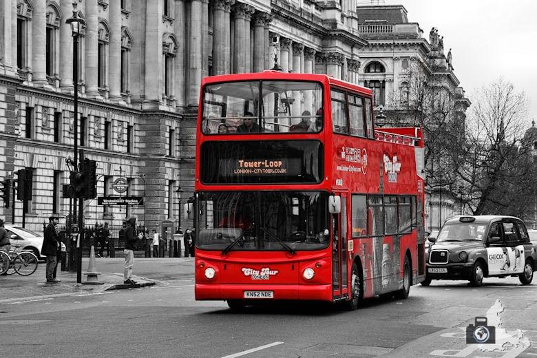 London Tipps zur Reisevorbereitung - Stadtrundfahrt mit dem Hop-on / Hop-off Bus