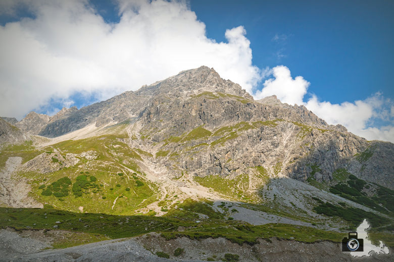 Berge, Lünersee, Brandnertal, Österreich