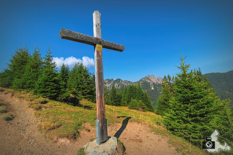 Gipfelkreuz am Loischkopf im Brandnertal