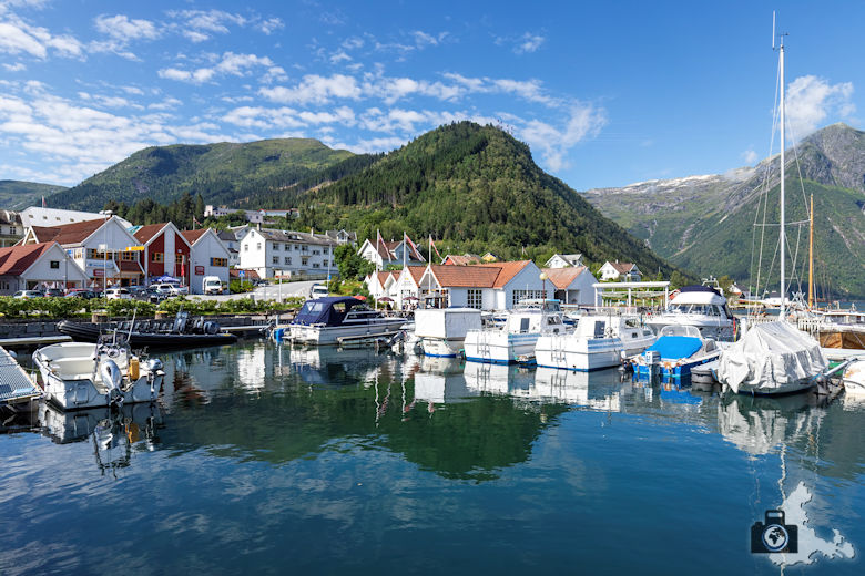 Balestrand am Sognefjord, Norwegen