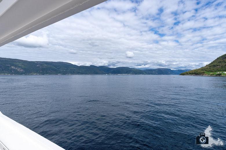 Fährfahrt über den Sognefjord