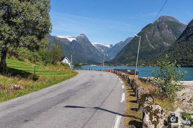 Jostedalsbreen, Fjaerland, Norwegen