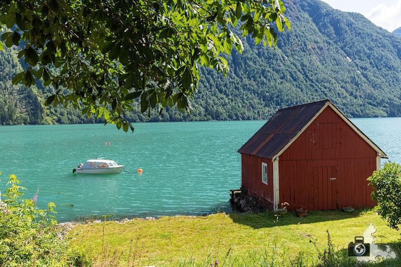 Fjaerland, Norwegen