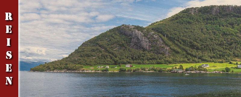 Lavik Fjord Hotell & Wanderung auf den Templane