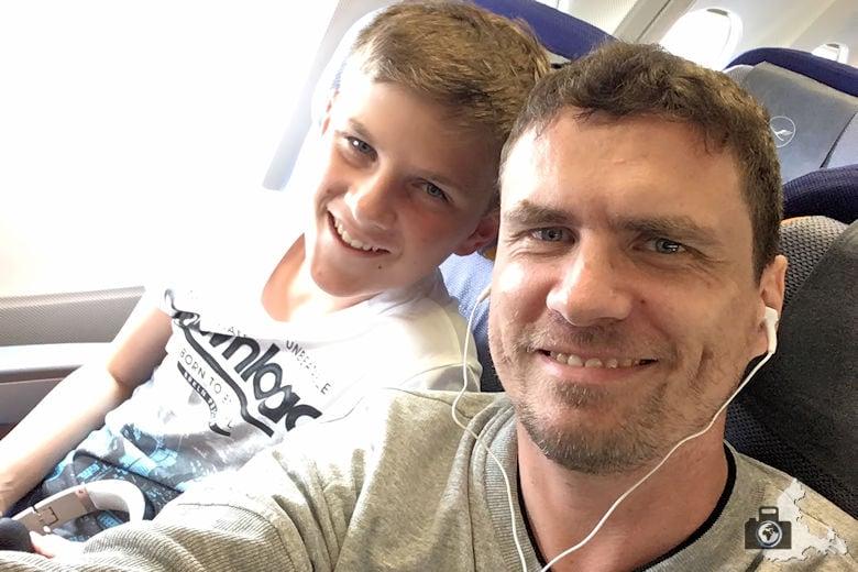 Rückflug von Mauritius mit Lufthansa