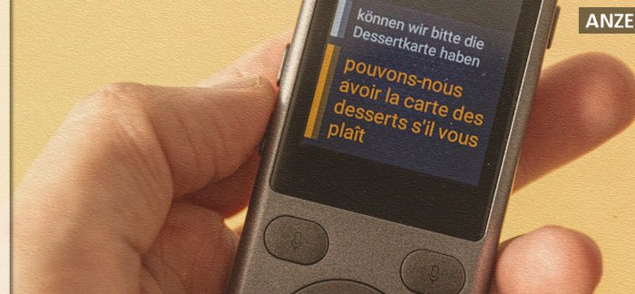 Testbericht Vasco Mini 2 - Sprachübersetzer auf Reisen