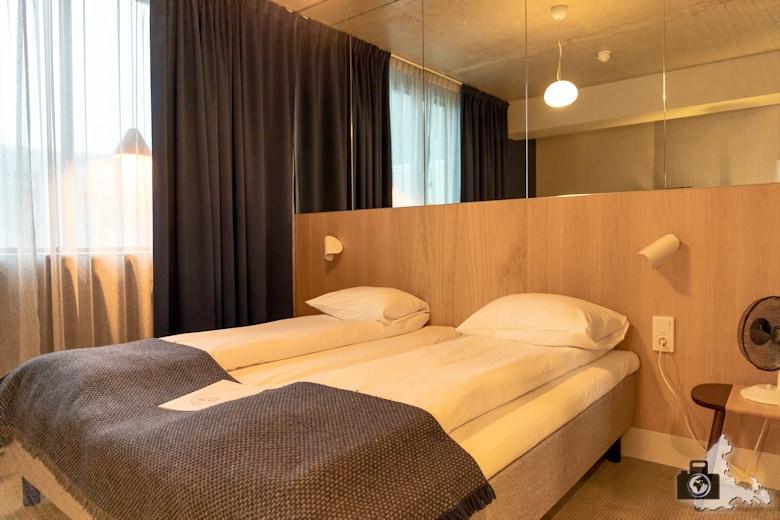 Doppelzimmer im Zander K Hotel, Bergen, Norwegen