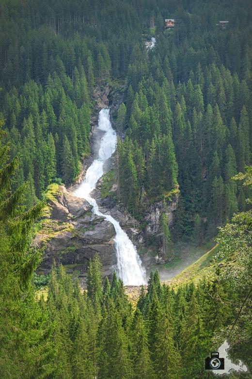 Krimmler Wasserfälle in Österreich, Hohe Tauern