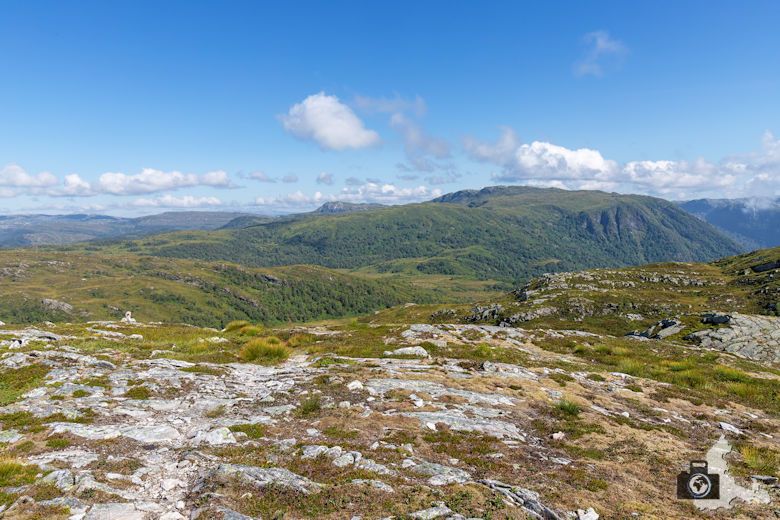 Fuglefjell Wanderung in Norwegen am Sognefjord