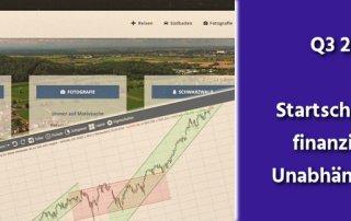 Aktien, Gold, Finanzen Q3 2018 - Startschuss zur finanziellen Unabhängigkeit