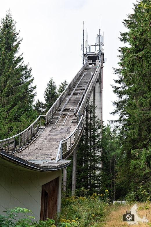 Sprungschanze, Schwarzwälder Genießerpfad Heilklima-Steig Schönwald