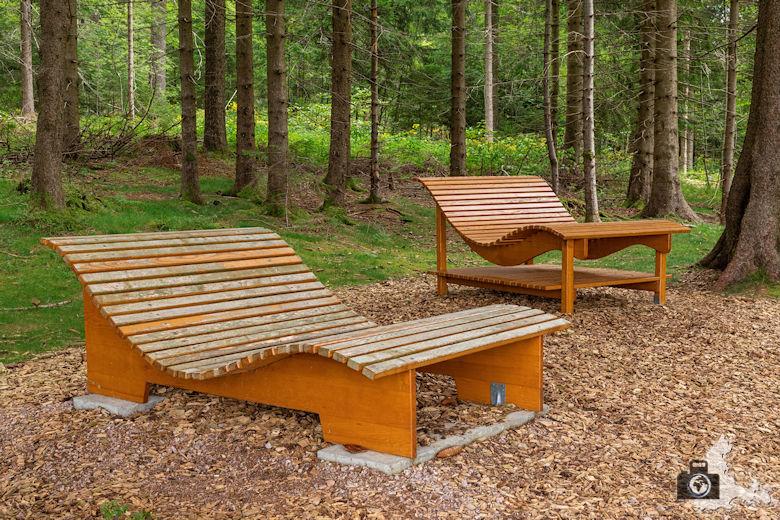 Relax Liegen, Schwarzwälder Genießerpfad Heilklima-Steig Schönwald