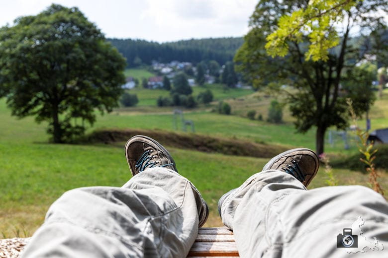 Ausblick, Schwarzwälder Genießerpfad Heilklima-Steig Schönwald