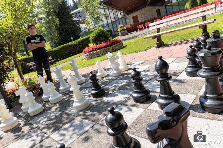 Schachspiel, Schwarzwälder Genießerpfad Heilklima-Steig Schönwald