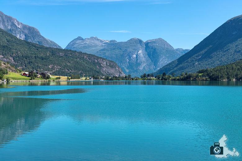See in Norwegen, Fahrt nach Geiranger
