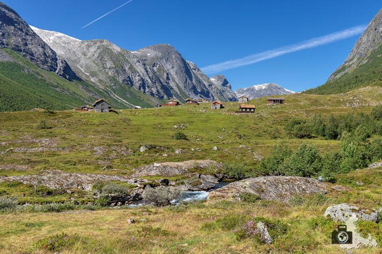 Von Lavik nach Geiranger, Norwegen
