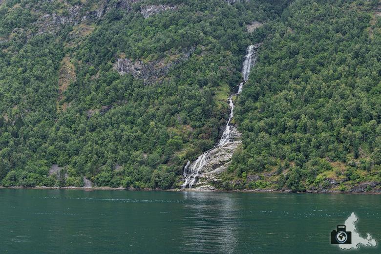 Wasserfall Sieben Schwestern, Geirangerfjord