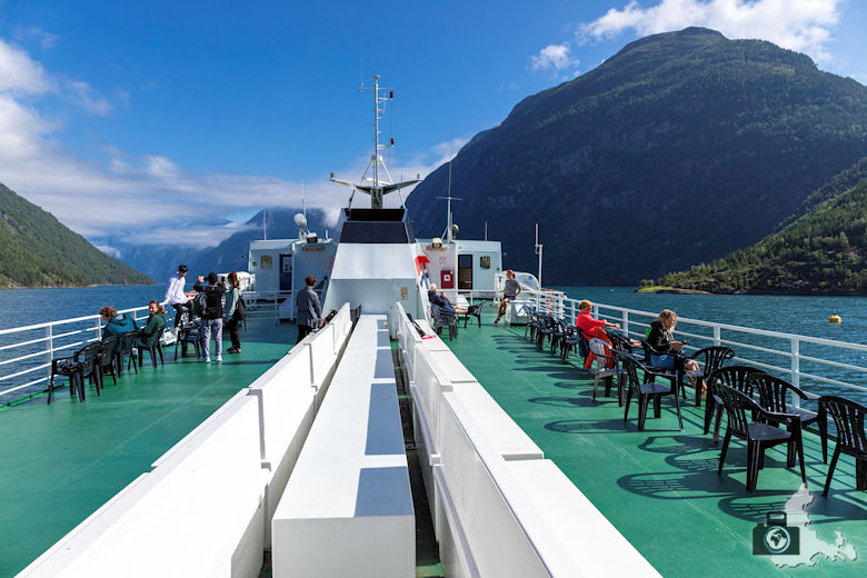Fahrt nach Hellesylt, Geirangerfjord