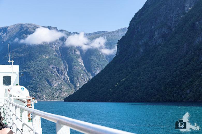 Fahrt auf dem Geirangerfjord